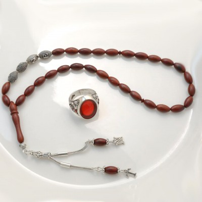 Personalized Rosary in Sterling Silver