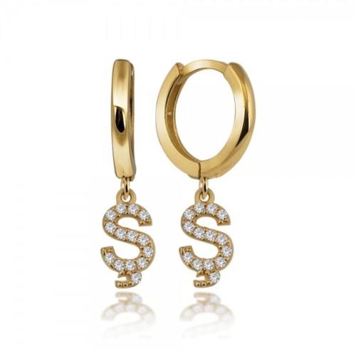 Personalized Earrings in Sterling Silver
