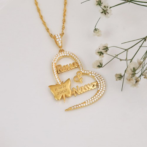 Personalized Necklace in Sterling Silver